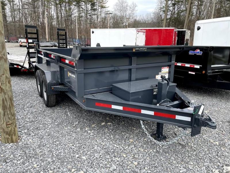 2021 Belmont DTX8112-12k Dump Trailer