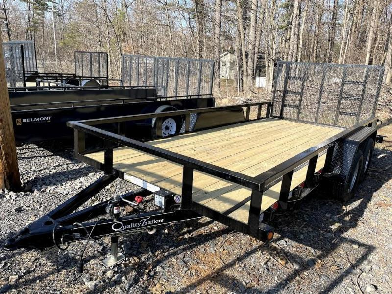 2021 Quality Trailers 16' Pro Utility Trailer