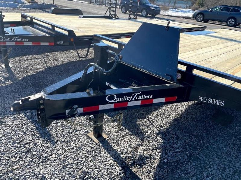 2022 Quality Trailers 24' Pro Deckover Flatbed Trailer