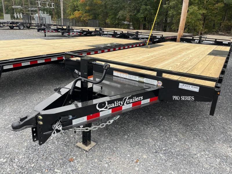 2022 Quality Trailers 20' Deckover 10k Equipment Trailer