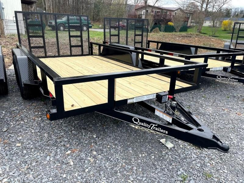 2021 Quality Trailers 14' Pro Utility Trailer