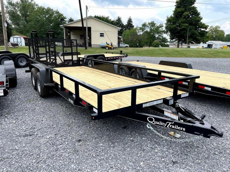 2022 Quality Trailers 20' Pro Utility Trailer