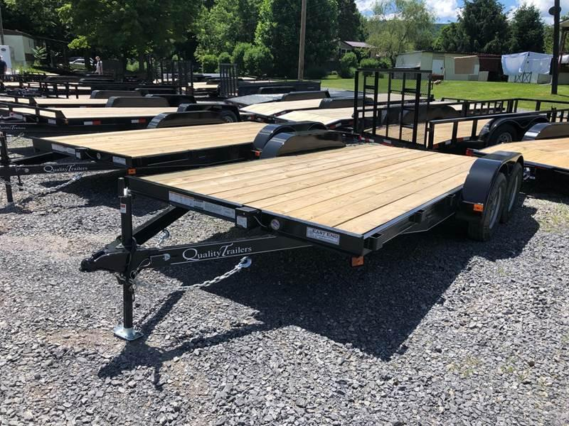 2021 Quality Trailers 16' Econ Car / Racing Trailer