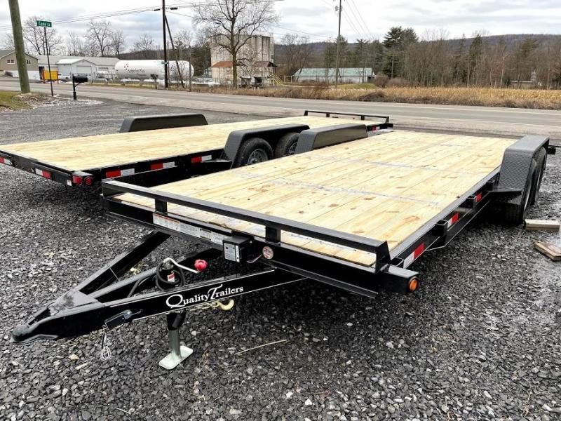 2021 Quality Trailers Wood Deck Car Hauler 20' Gen