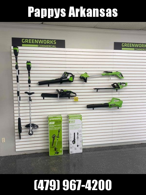2021 Green Works TOOLS Lawn Equipment