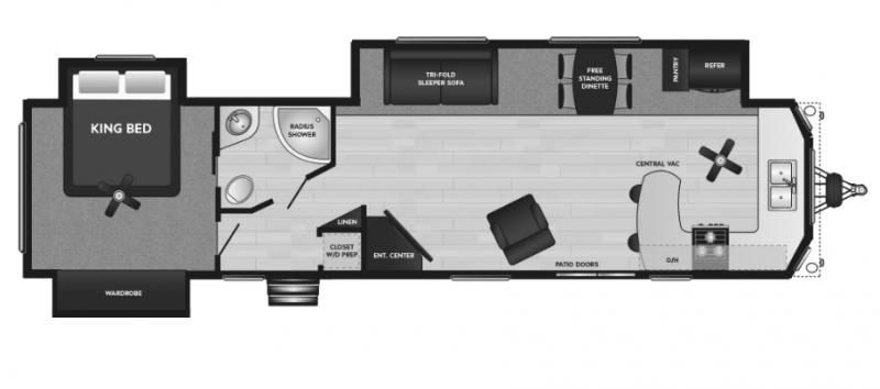 2021 Keystone RV Retreat 39FKSS Destination Trailer RV