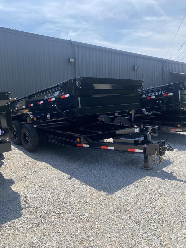 2021 Iron Bull 83X14X2 BUMPER PULL Dump Trailer