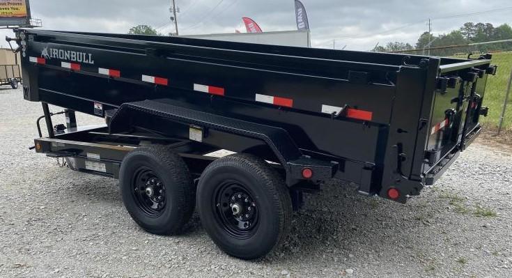 2022 Iron Bull 83X14X2 BUMPER PULL Dump Trailer