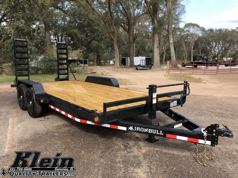 2021 Iron Bull 83X20 Equipment Trailer