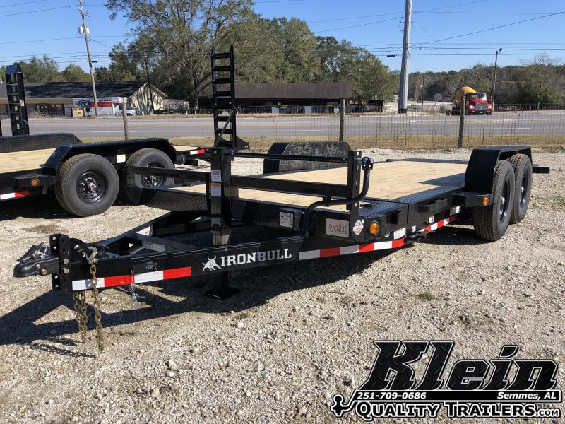2021 Iron Bull 83X18 Tilt Equipment Trailer