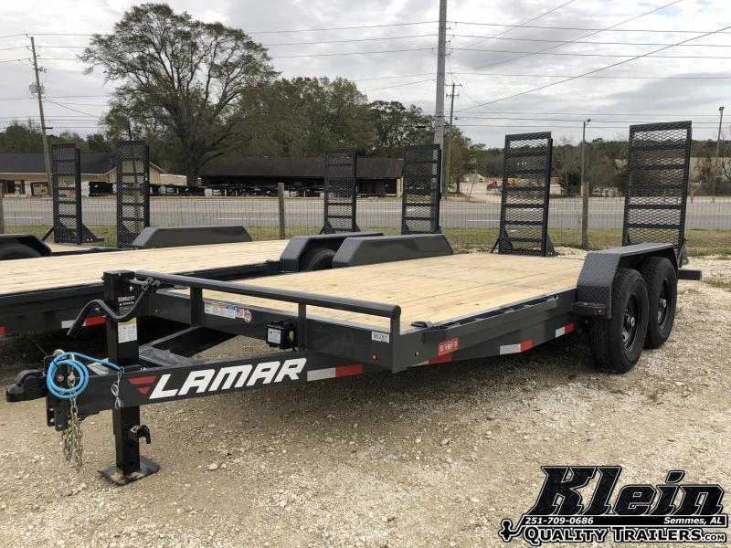 2020 Lamar Trailers 83X16 Equipment  Trailer