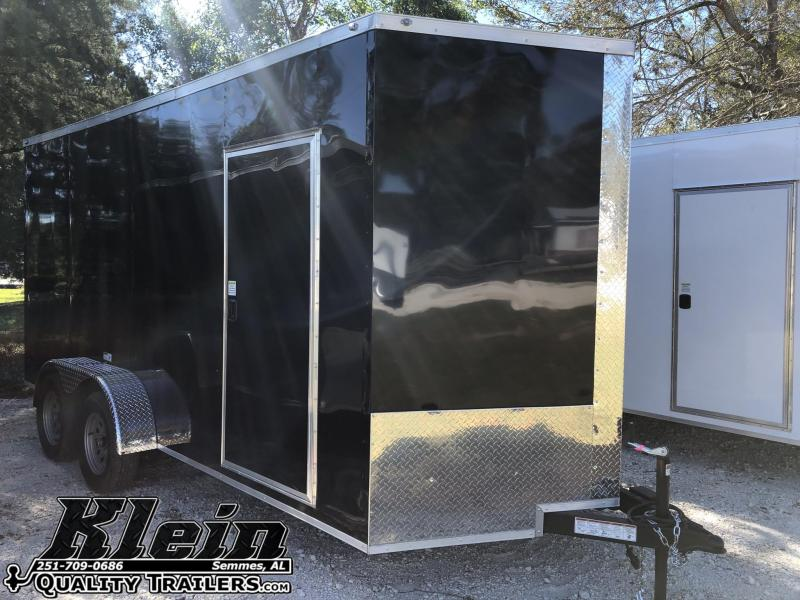 2021 NationCraft 7X16 Enclosed Cargo Trailer 7' Int