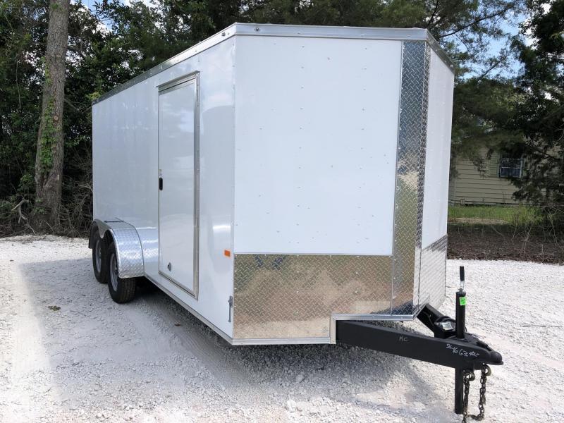 2021 Rock Solid Cargo 7X16 TA Enclosed Trailer