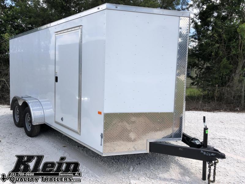 2021 Rock Solid Cargo 7X16 TA Enclosed Trailer