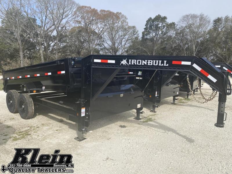 2021 Iron Bull 83X14X2 Gooseneck Dump Trailer