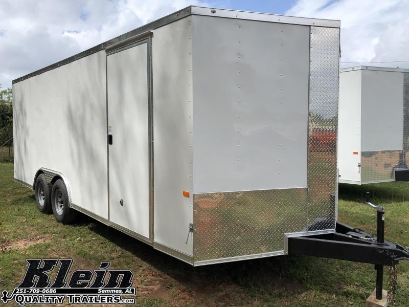 2021 Rock Solid Cargo 8.5X20 Enclosed Cargo Trailer
