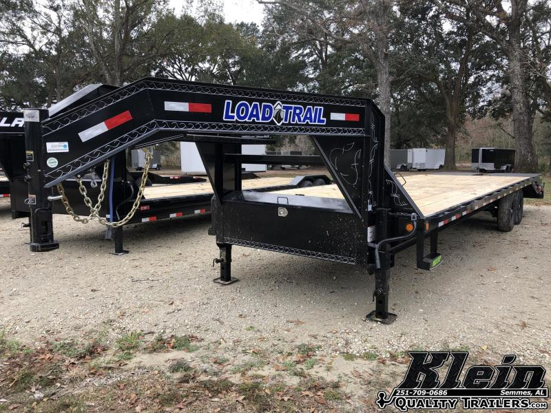 2021 Load Trail 102X28 Gooseneck Deckover Equipment Trailer
