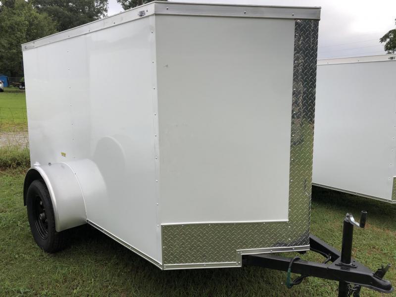 2021 Fast Cargo 5X8 Enclosed Cargo Trailer