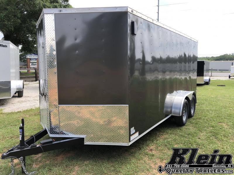 2021 Fast Cargo 7X16 Enclosed Cargo Trailer