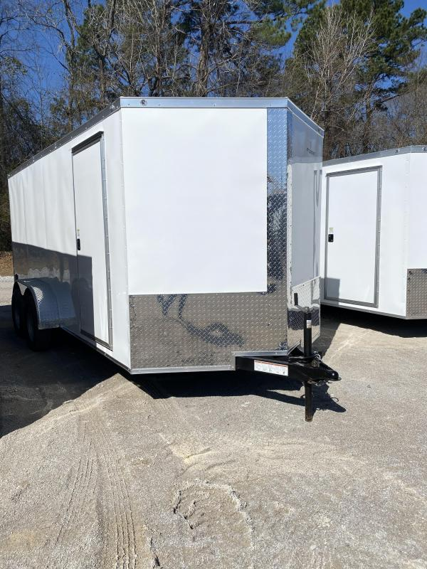 2022 NationCraft 7X16 TA Enclosed Cargo Trailer