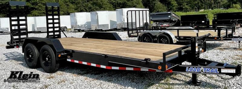 2022 Load Trail 83X20 BUMPER PULL Equipment Trailer