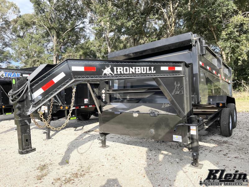 2022 Iron Bull 83X14 Gooseneck Dump Trailer