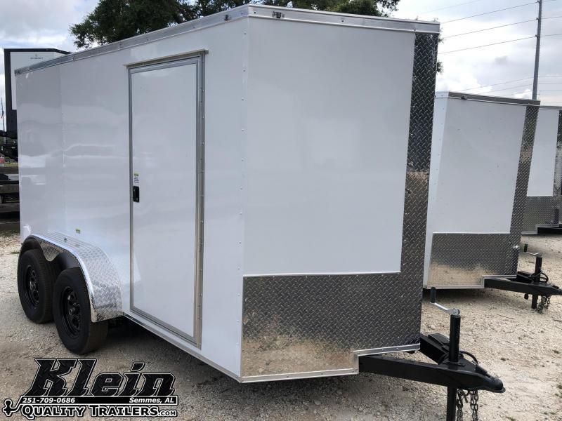 2021 Fast Cargo 6X12 TA Enclosed Cargo Trailer