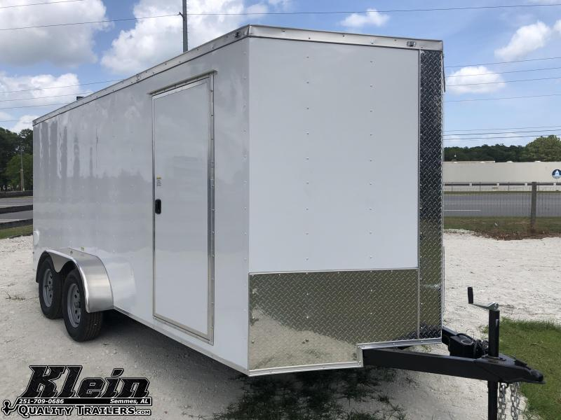 2020 Fast Cargo 7X16 Enclosed Cargo Trailer