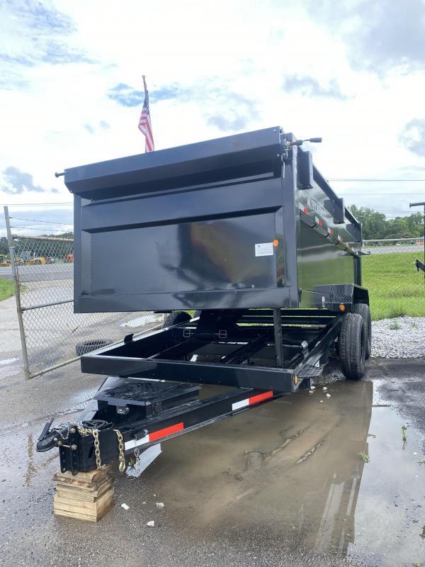 2021 Iron Bull 83x14x4 bumper pull Dump Trailer