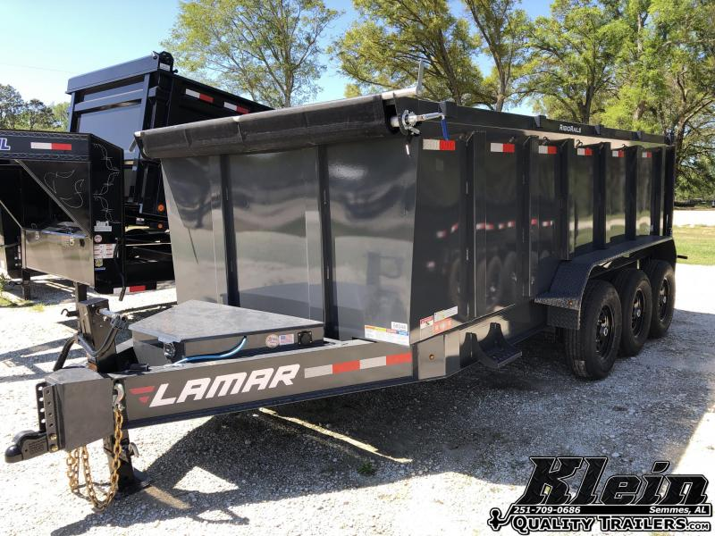2021 Lamar Trailers 83X16 Dump Trailer 21K
