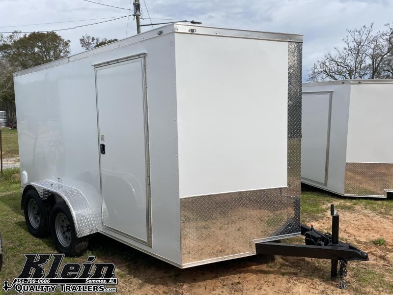 2021 Fast Cargo 7X12 TA Enclosed Cargo Trailer