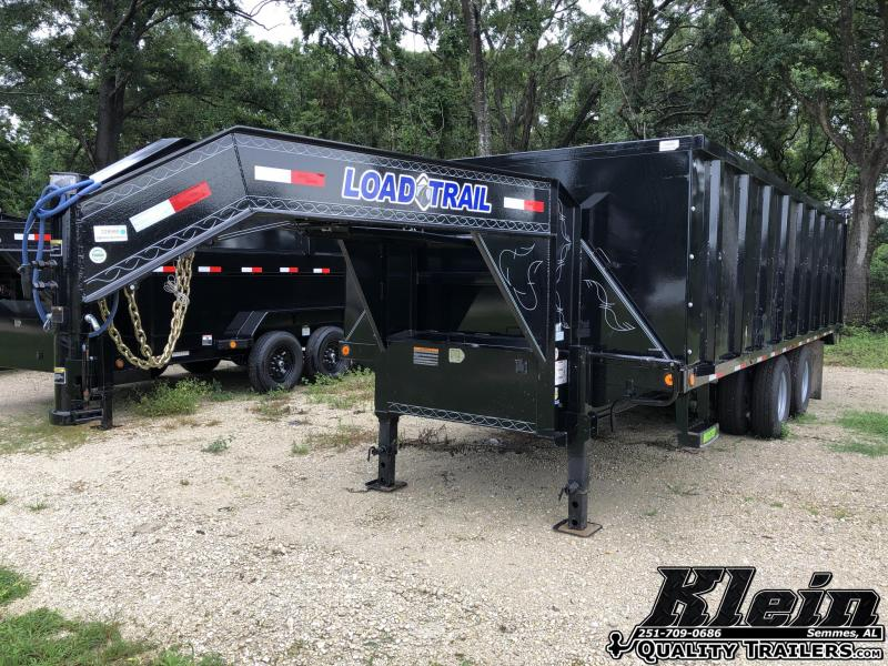 2021 Load Trail 102X20 Deckover Dump Dump Trailer