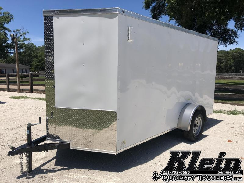 2020 Fast Cargo 6X12 SA Enclosed Cargo Trailer