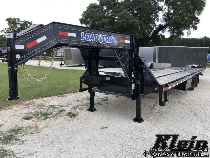 2021 Load Trail 102X32 Gooseneck Hyd. Dovetail Equipment Trailer