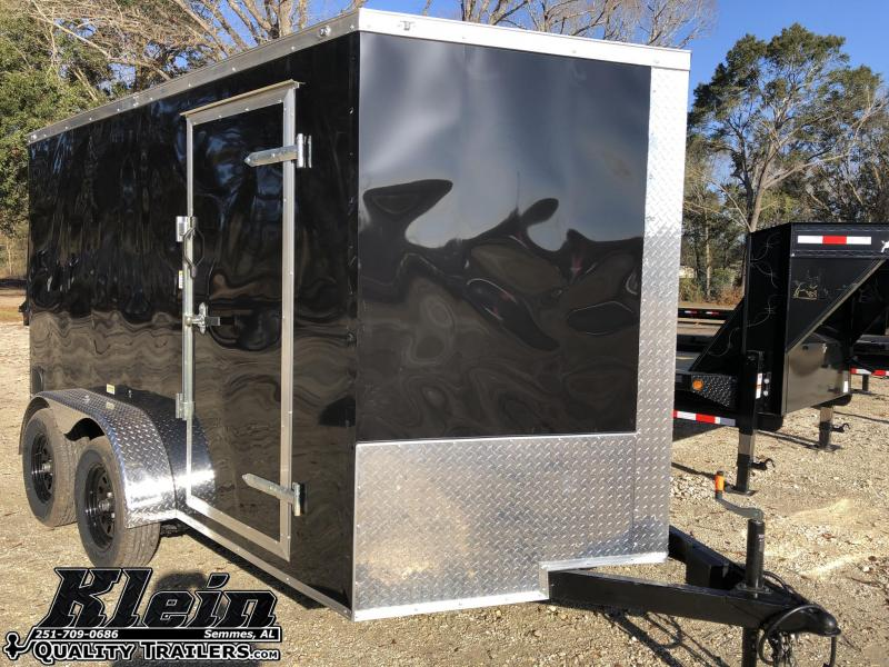 2021 Fast Cargo 7X12 TA Enclosed Cargo Trailer
