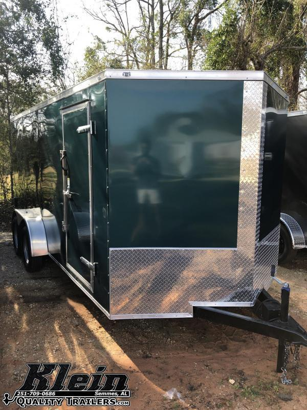 2021 Fast Cargo 7X16 Enclosed Cargo Trailer