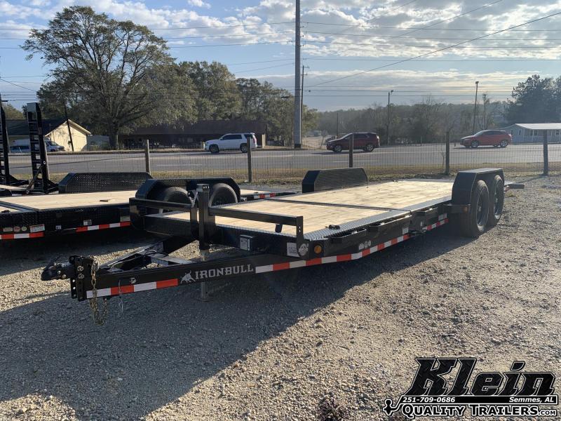 2021 Iron Bull 83X22 Tilt Equipment Trailer