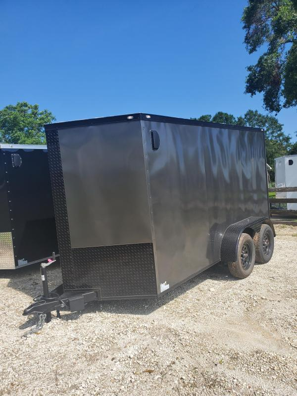 2021 NationCraft Trailers 6x12 Tandem Enclosed Cargo Trailer