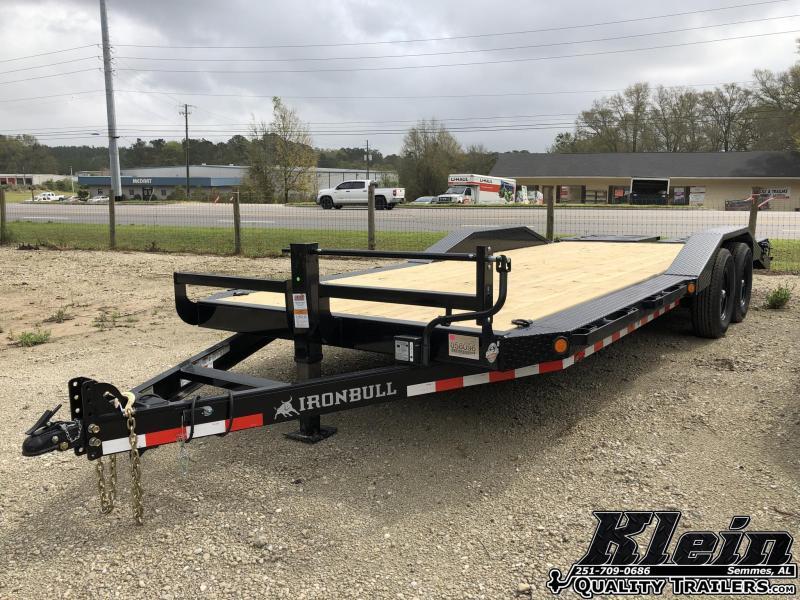 2021 Iron Bull 102X22 Equipment Trailer
