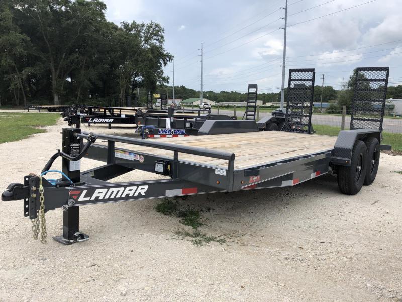 2020 Lamar Trailers 83X18 Equipment Trailer