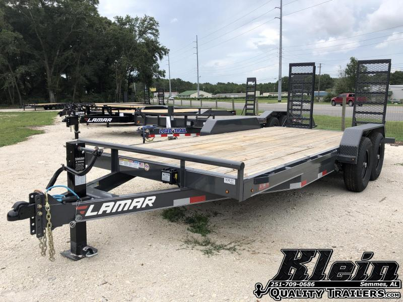 2020 Lamar Trailers 83X18 Equipment Trailer