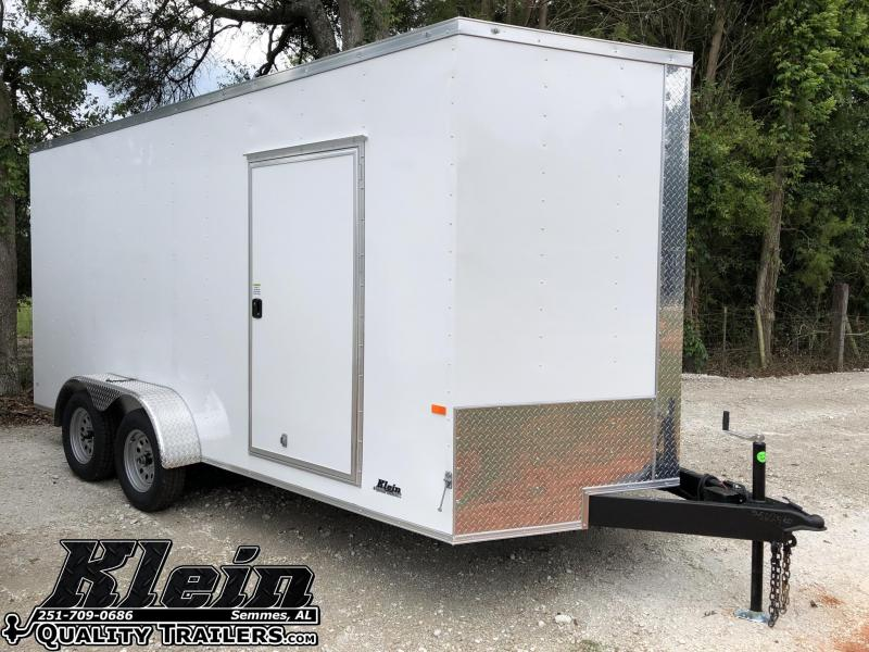 2021 Rock Solid 7X16 TA 7' Interior Enclosed Cargo Trailer