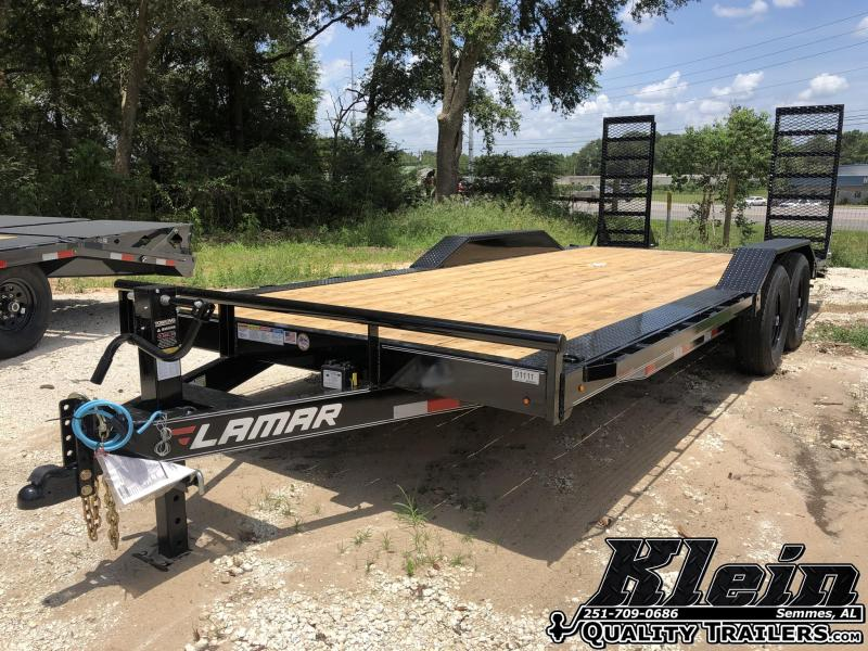 2020 Lamar Trailers 102X20 Equipment Trailer