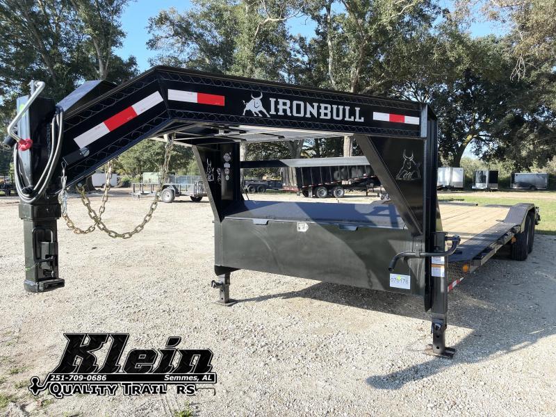 2022 Iron Bull 102X28 EQ GN Equipment Trailer