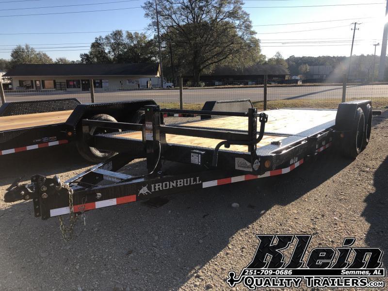 2021 Iron Bull 83X20 Tilt Equipment Trailer