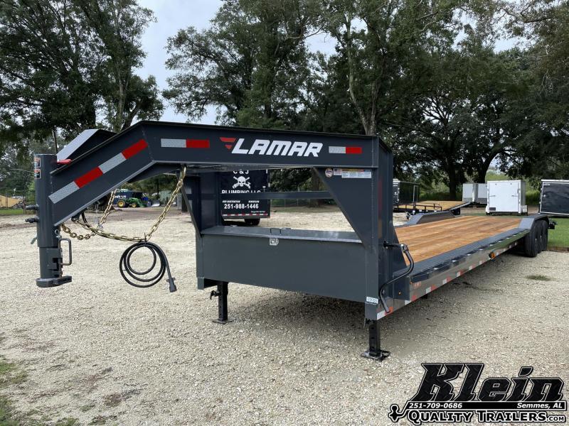2021 Lamar Trailers 102X40 Equipment Gooseneck