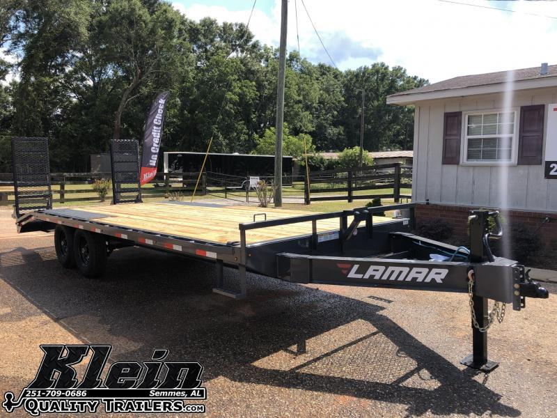 2020 Lamar Trailers 102X22 Equipment Trailer