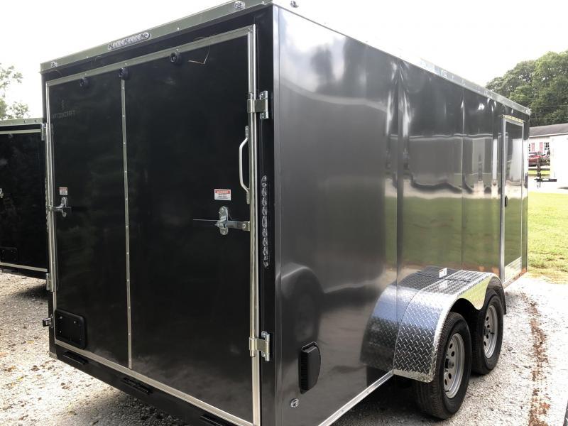 2021 NationCraft 7X14 Enclosed Cargo Trailer