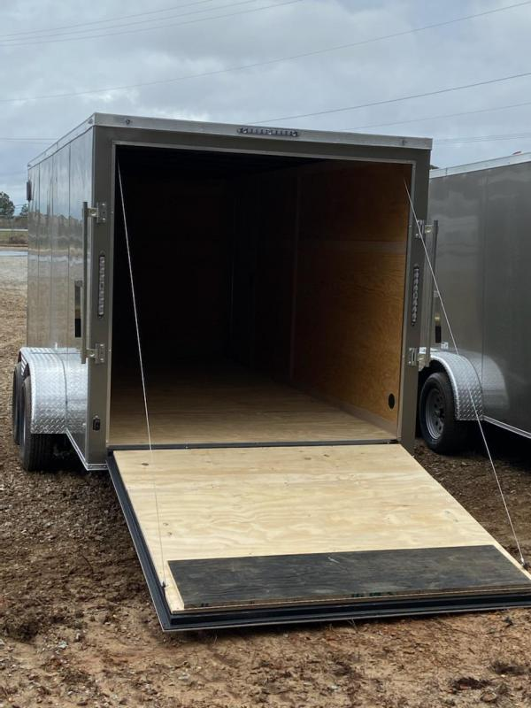 2021 NationCraft Trailers 7x16 Tandem Axle Enclosed Cargo Trailer