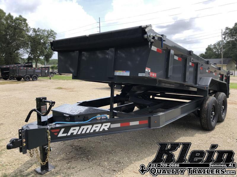 2020 Lamar Trailers 83X16 Dump Trailer